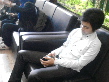 "Pemeran pria Video Mesum ""PNS kota Bandung"" Datangi Walikota Bandung, Jumat (12/9)."