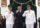 Ridwan Kamil Lantik Bupati Subang dan Majalengka