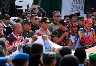 Kebersamaan Kapolda Jabar dengan Komunitas Adventure bersama IOF Indonesia