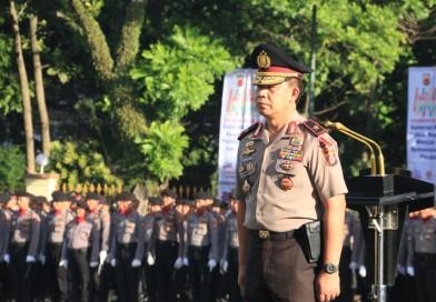 Amanat Wakapolda Jabar saat Upacara Bendera 17 Januari 2019 di Mapolda Jabar