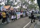 Jalani Sidang Perdana, Habib Bahar Dapat Dukungan dari Ratusan Masa