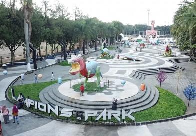 Untuk Sementara Lampion Park Tegalega Ditutup
