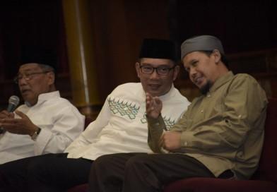 Gubernur Ridwan Kamil dan Ustadz Rahmat Baequni Diskusi Membangun Umat