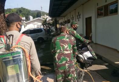 Pererat Silaturahmi, Pendeta Bersama Kodim 0610/Sumedang dan Polres Sumedang serta Warga Binaan Gelar Baksos