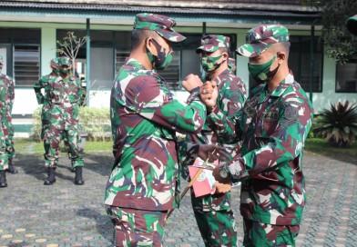 Empat Personil dari Kodim 0610/Sumedang Dipercaya Jadi Satgas Apter