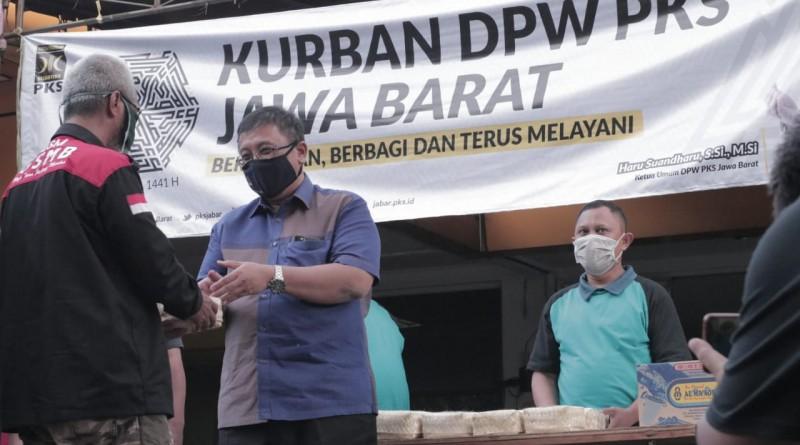 PKS Jabar Potong 2141 Hewan Kurban