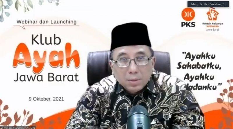 PKS Jabar Launching Klub Ayah